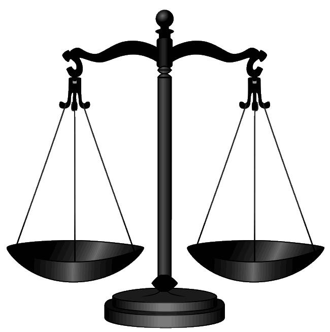 Scale clipart supreme court #8