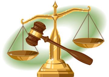 Scale clipart supreme court #3