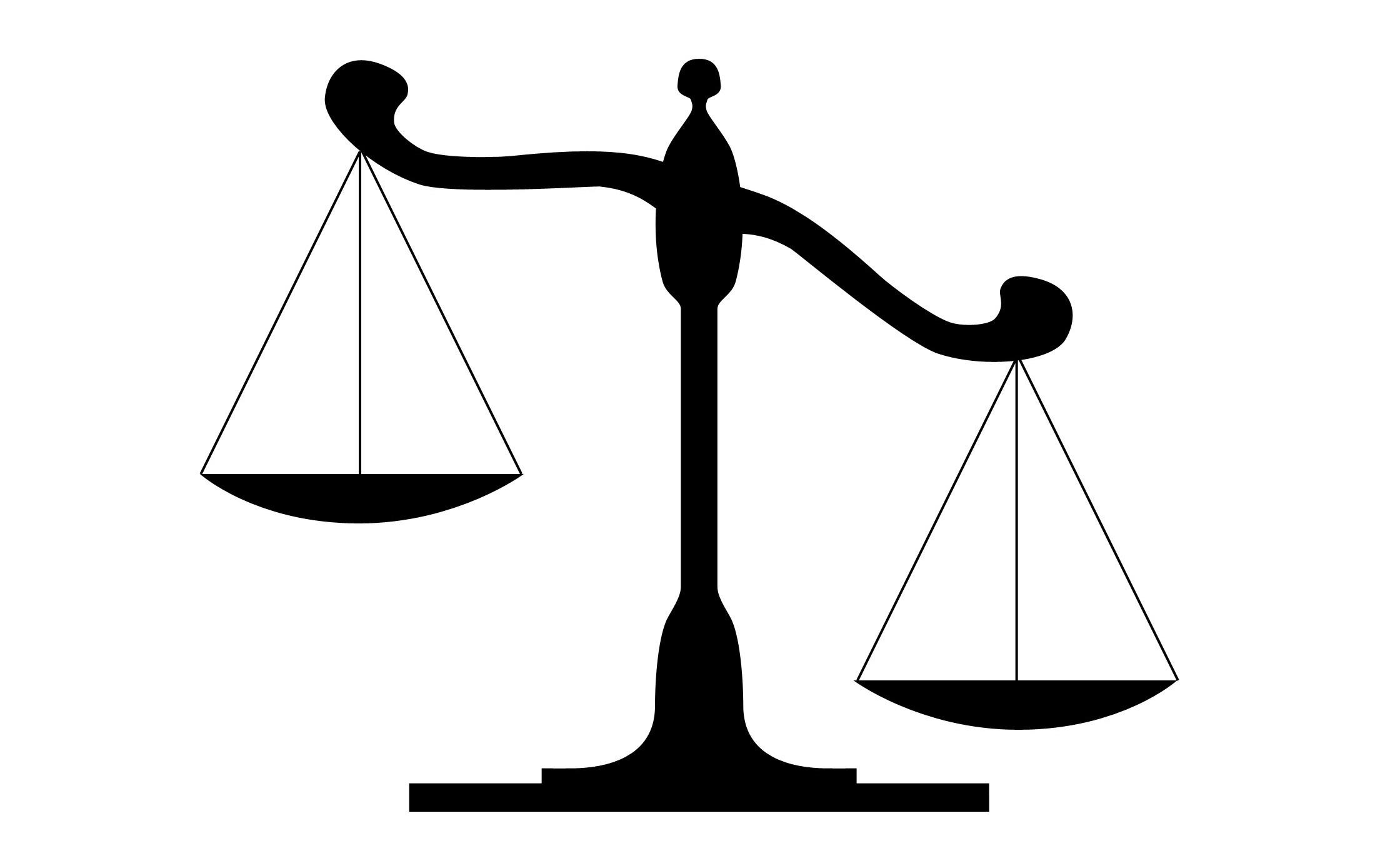 Scale clipart supreme court #9