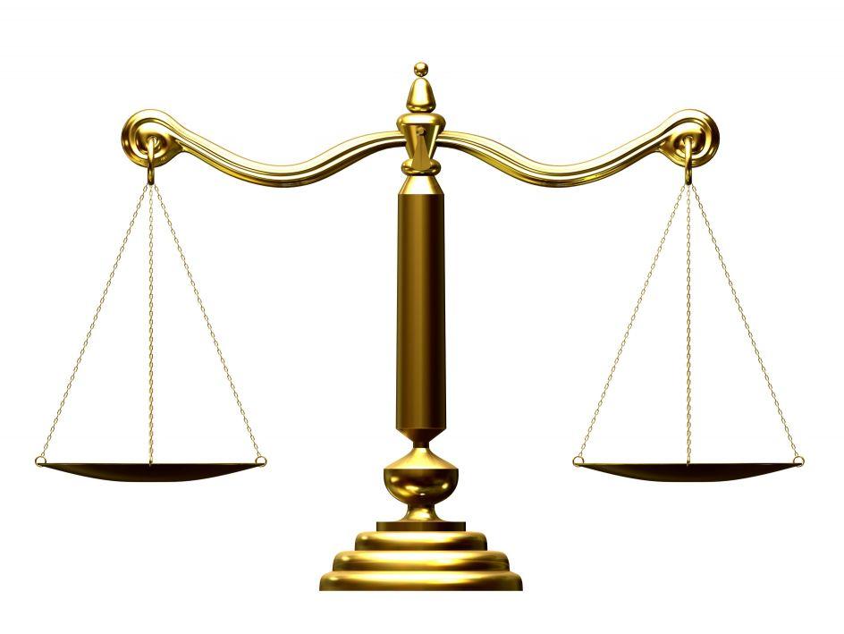 Scale clipart supreme court #7
