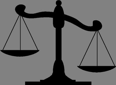 Scale clipart supreme court #13