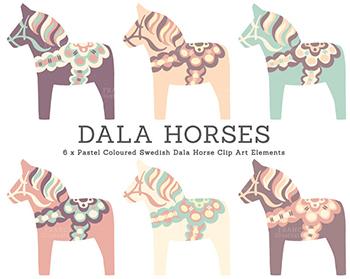 Scandinavia clipart dala horse DREAMS MOODS: LUNE LUNE Horses