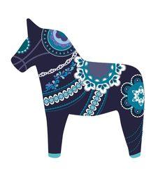 Scandinavia clipart dala horse Dala 2 Folk Horse Traditional