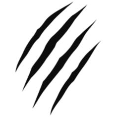 Wolverine clipart animal claw Marks for me tattoo Would