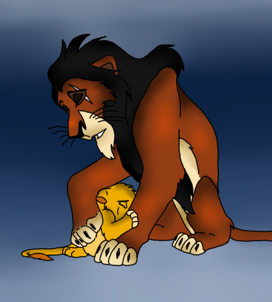 Scar clipart uncle DariusFairfall Simba and by on