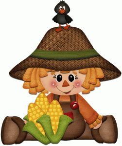 Scarecrow clipart autumn On 218 Art about this