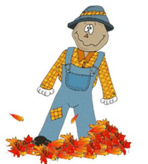 Scarecrow clipart autumn Clip Fall 3 to free