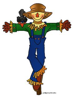 Scarecrow clipart autumn For board cutout Fall and