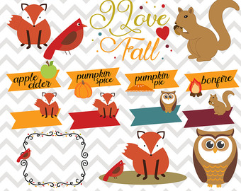 Scarecrow clipart autumn animal And clipart Clipart Autumn with
