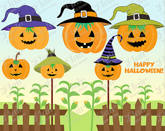 Scarecrow clipart baby Jack BOY Digital Baby Clipart