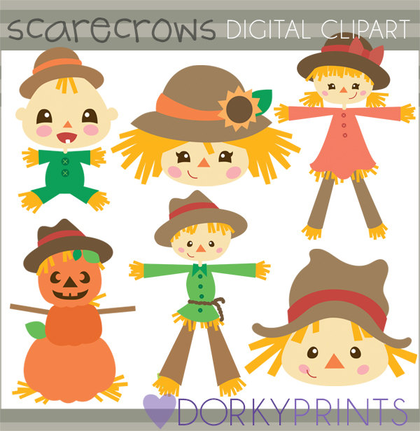 Scarecrow clipart baby Clipart this Scarecrow Limited Commercial