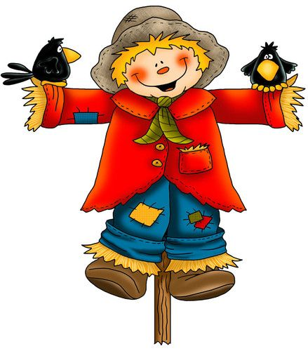 Scarecrow clipart baby Free art clip clipartcow images