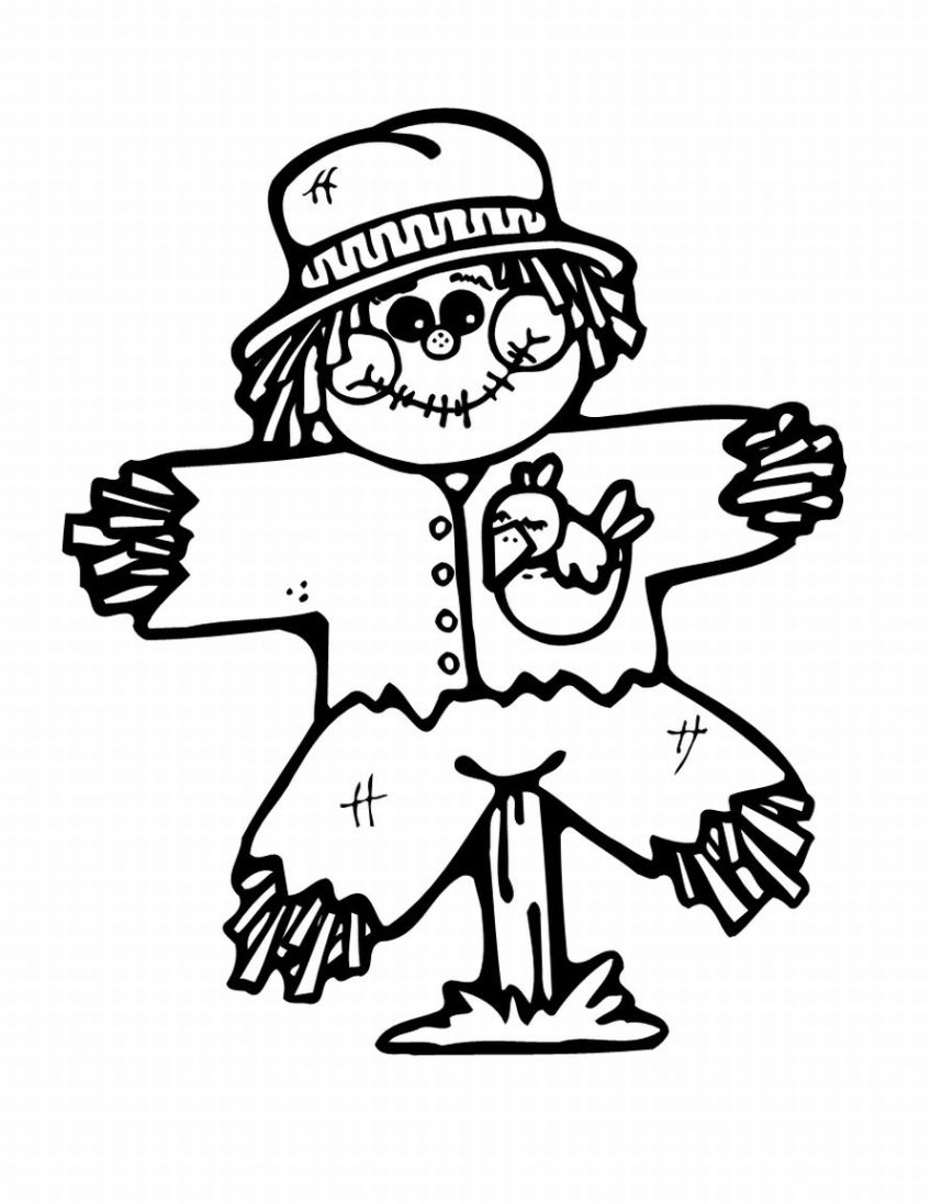 Scarecrow clipart black and white Kids scarecrow%20clipart%20black%20and%20white%20for%20kids Clipart Scarecrow Black