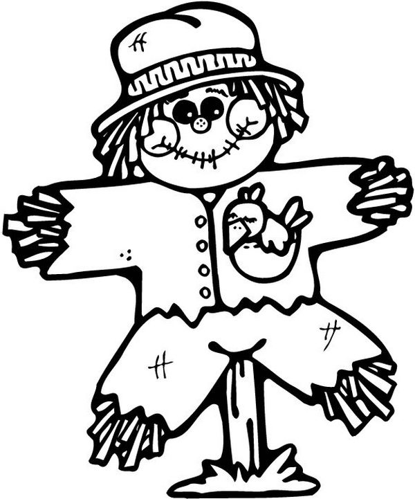 Scarecrow clipart body Download 20 Page Fun