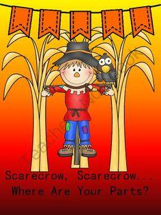 Scarecrow clipart body Scarecrow Scarecrow Parts? Where Pinterest