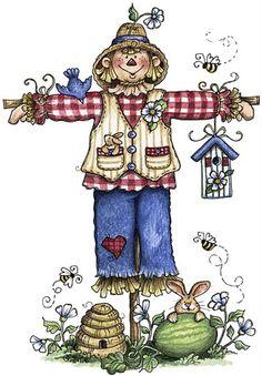Scarecrow clipart body De Laminas 377) para Decoupage