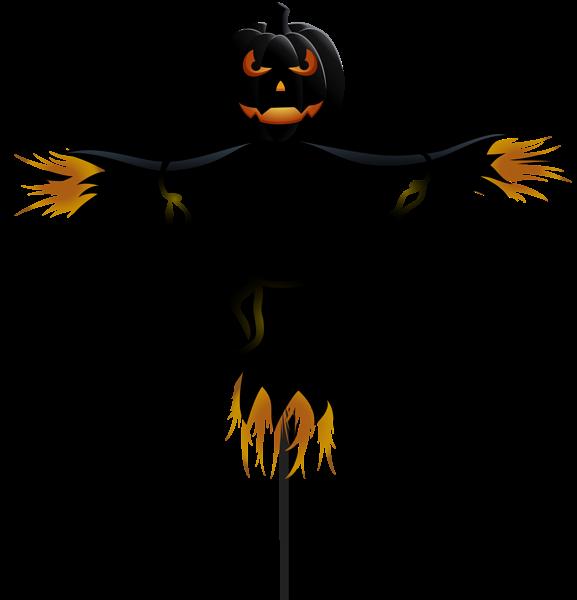 Scarecrow clipart creepy Pumpkin Clip Halloween Halloween PNG