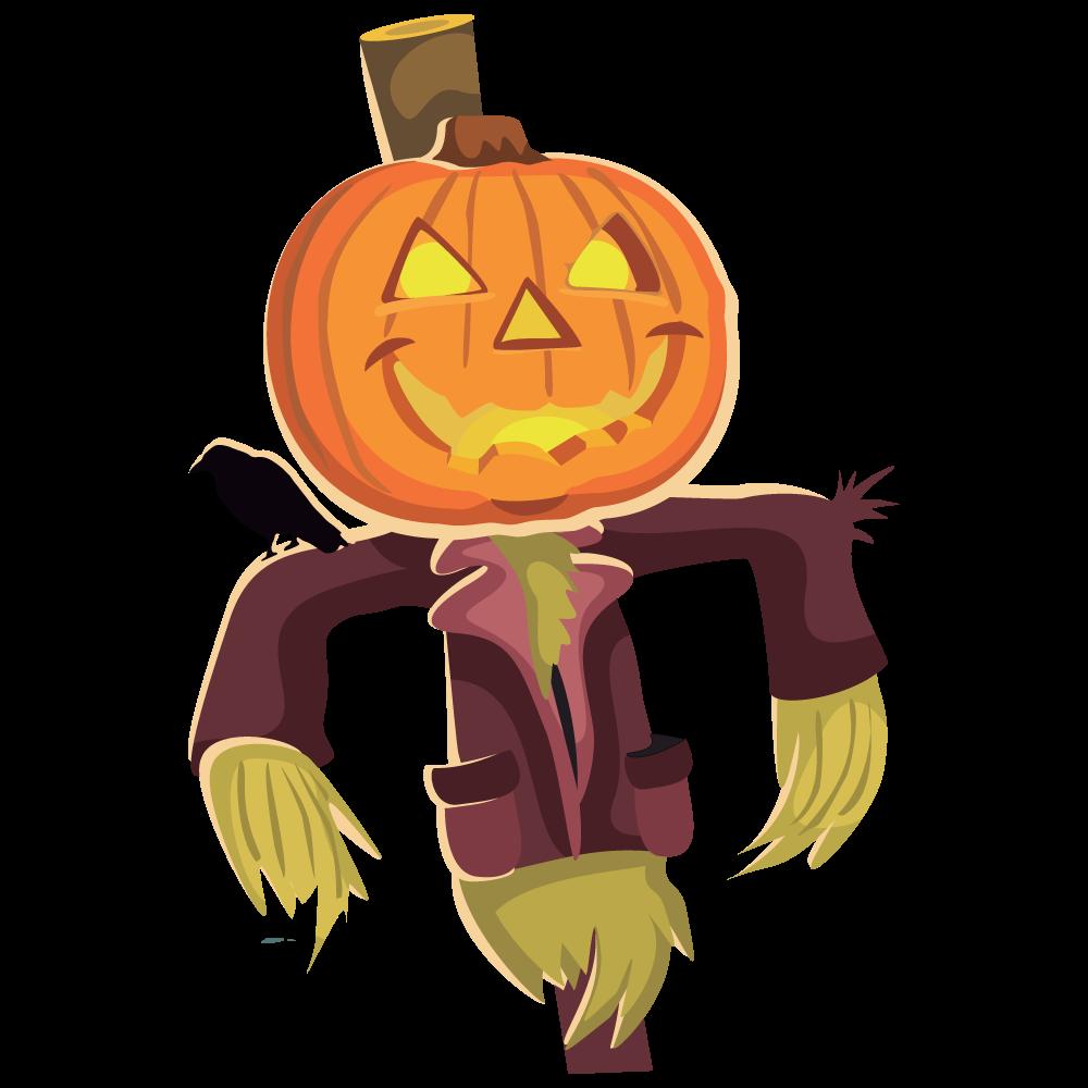 Scarecrow clipart creepy Clip clipart 2 Scarecrow free
