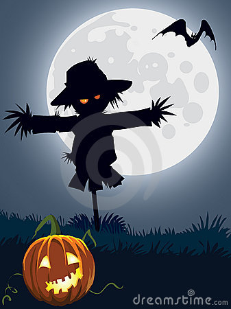 Scarecrow clipart creepy Scary Scarecrow clipart scarecrow Clipart