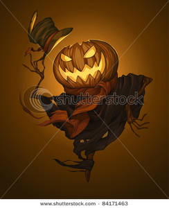 Scarecrow clipart creepy (25+) Clipart scary scarecrow head
