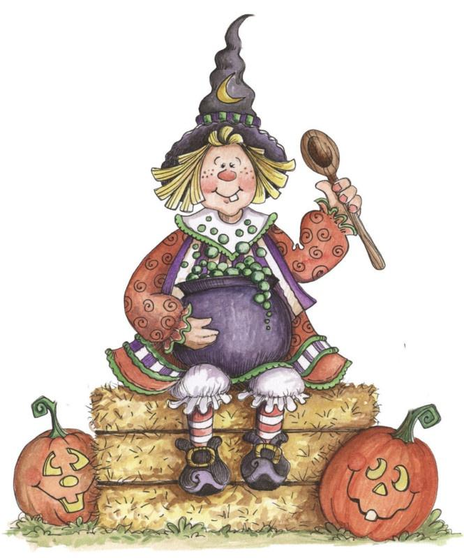Scarecrow clipart cute halloween Halloween images art on 394