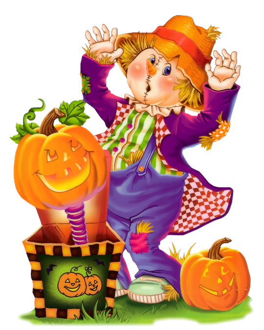 Scarecrow clipart cute halloween View Cute Clipart Yopriceville full