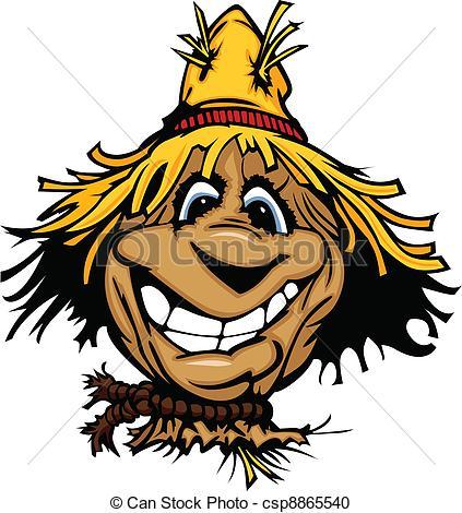 Straw Hat clipart scarecrow hat #2