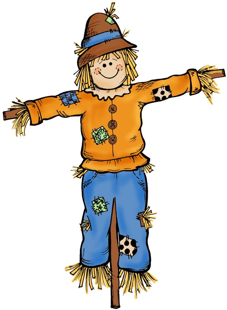 Scarecrow clipart female  Fall Free images art