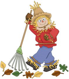 Scarecrow clipart female  Imagenes For 40 Halloween