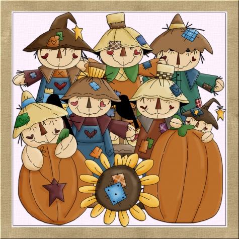 Scarecrow clipart harvest Harvest Graphics Shoppe Scare Scare
