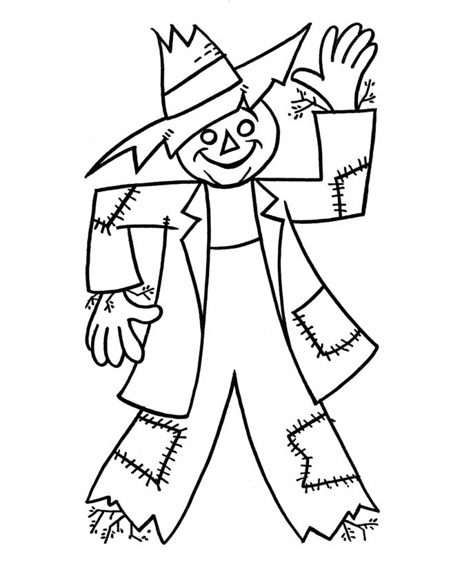 Scarecrow clipart harvest day Sheets scarecrow to 1000+ Coloring