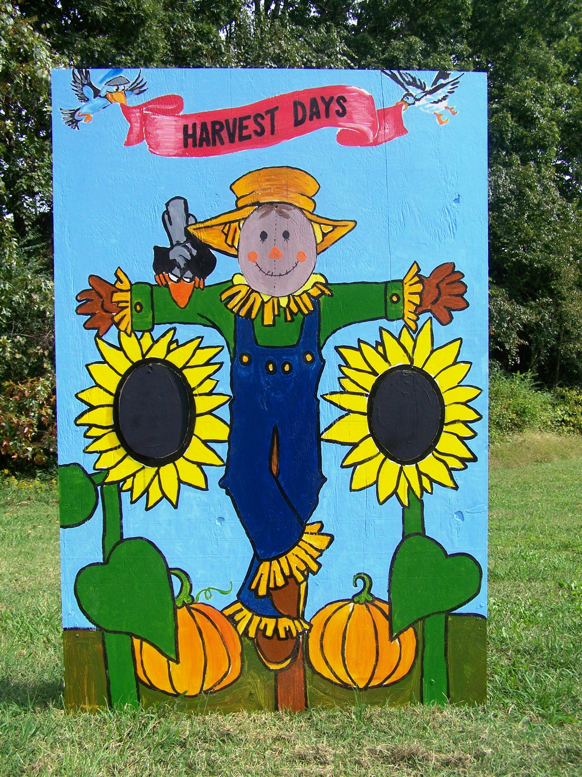 Scarecrow clipart harvest day Of » Country Lake Board