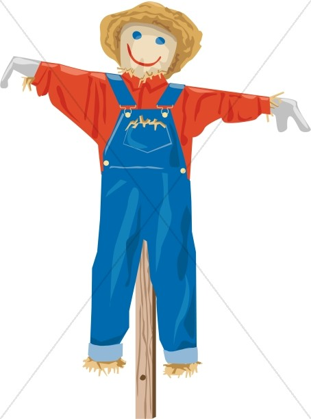 Scarecrow clipart harvest day Autumn Harvest Images  Day