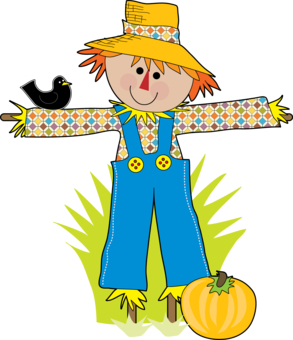 Straw Hat clipart scarecrow hat #4