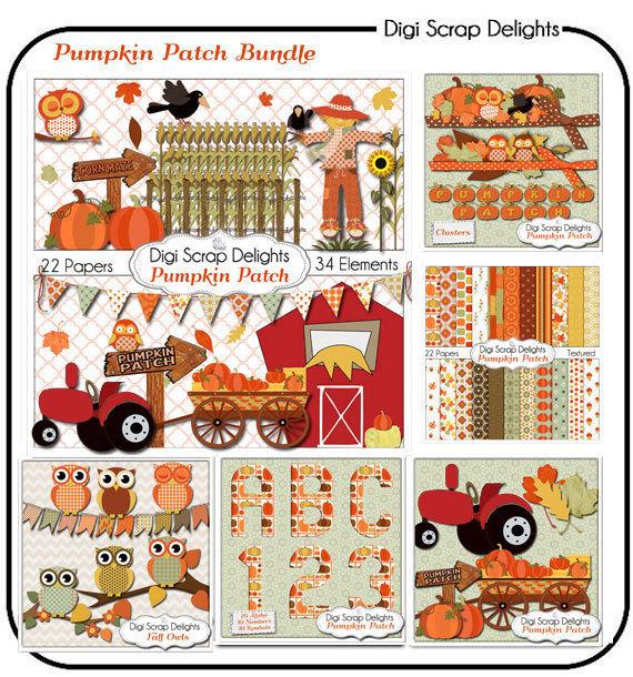 Cart clipart pumpkin picking Pumpkin Art Owls Farm Fall
