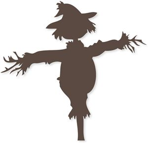 Scarecrow clipart silhouette Silhouette Store! in shape Scarecrows