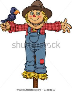 Scarecrow clipart simple Layer gif art Cartoon a