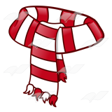 Scarf clipart White Scarf Scarf—with and Scarf