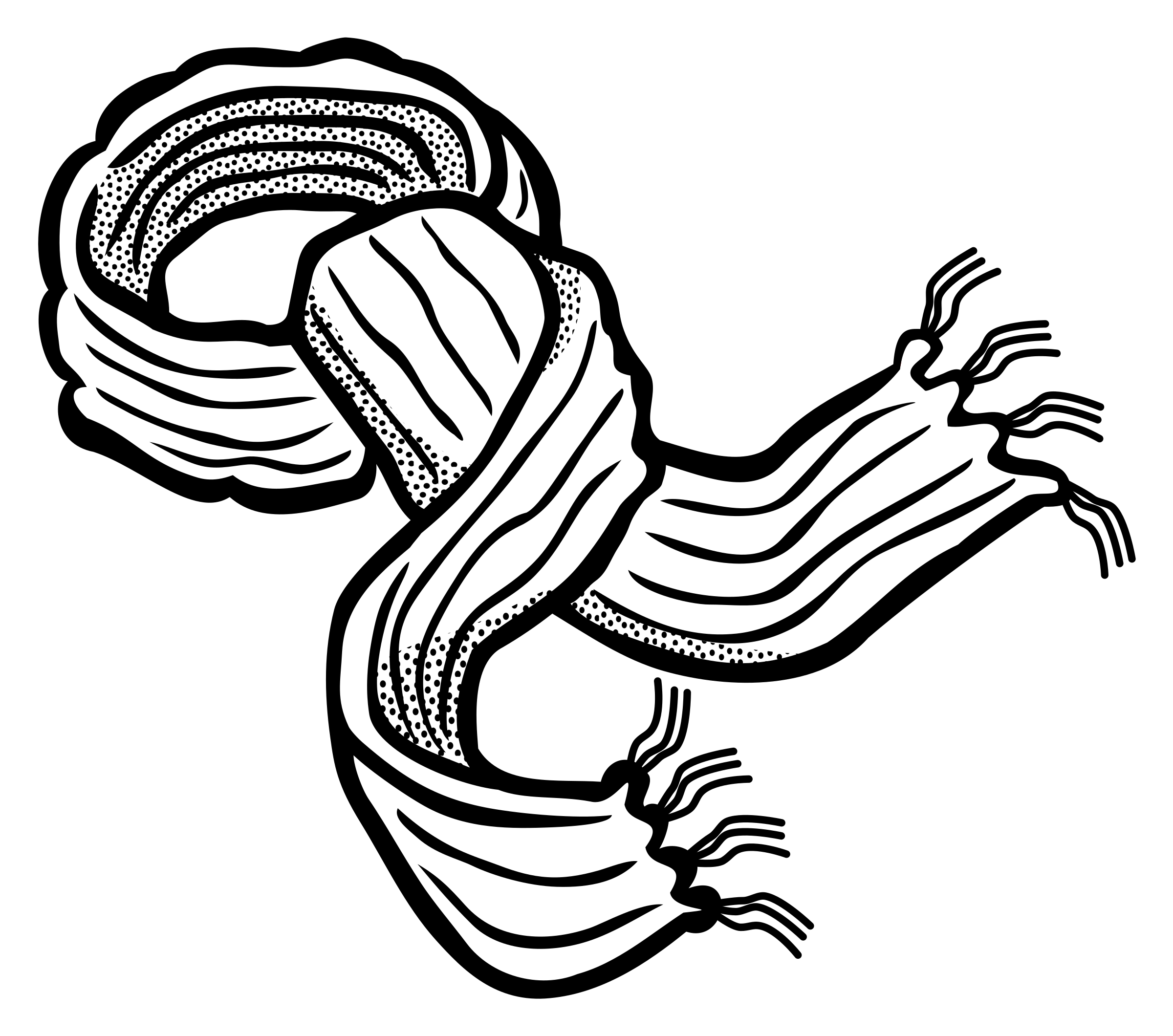 Black & White clipart scarf Clipart lineart scarf scarf lineart