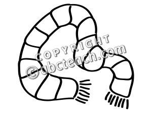 Black & White clipart scarf 20clipart Panda scarf%20clipart Free Images