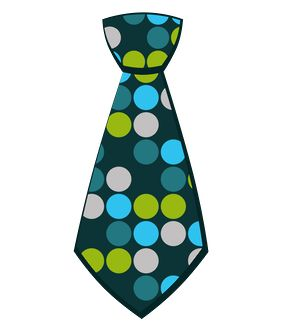 Scarf clipart green tie #15