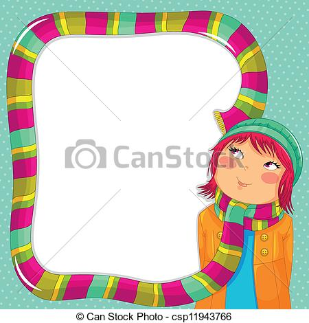 Scarf clipart long #4