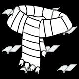 Black & White clipart scarf Art red schliferaward Abeka and