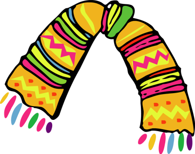Scarf clipart transparent #10