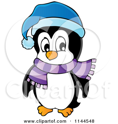Penguin clipart scarf clipart Winter Clipart Images Clipart Scarf