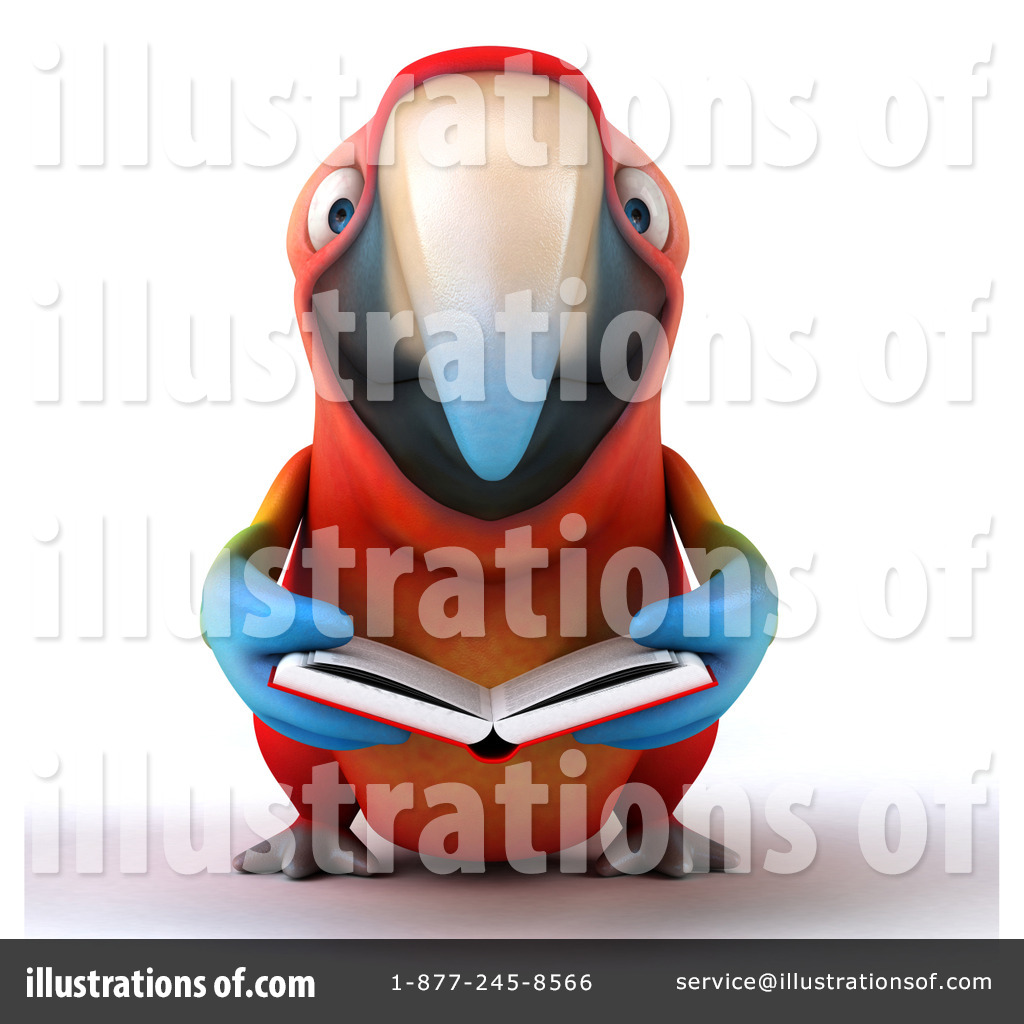 Scarlet Macaw clipart animated #12