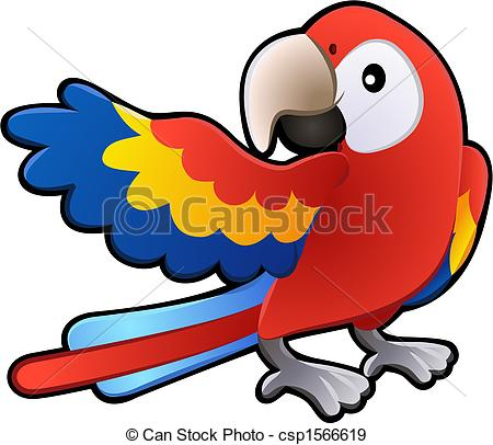 Scarlet Macaw clipart animated #13