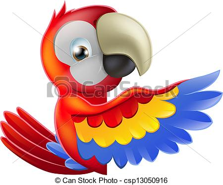 Scarlet Macaw clipart animated #9