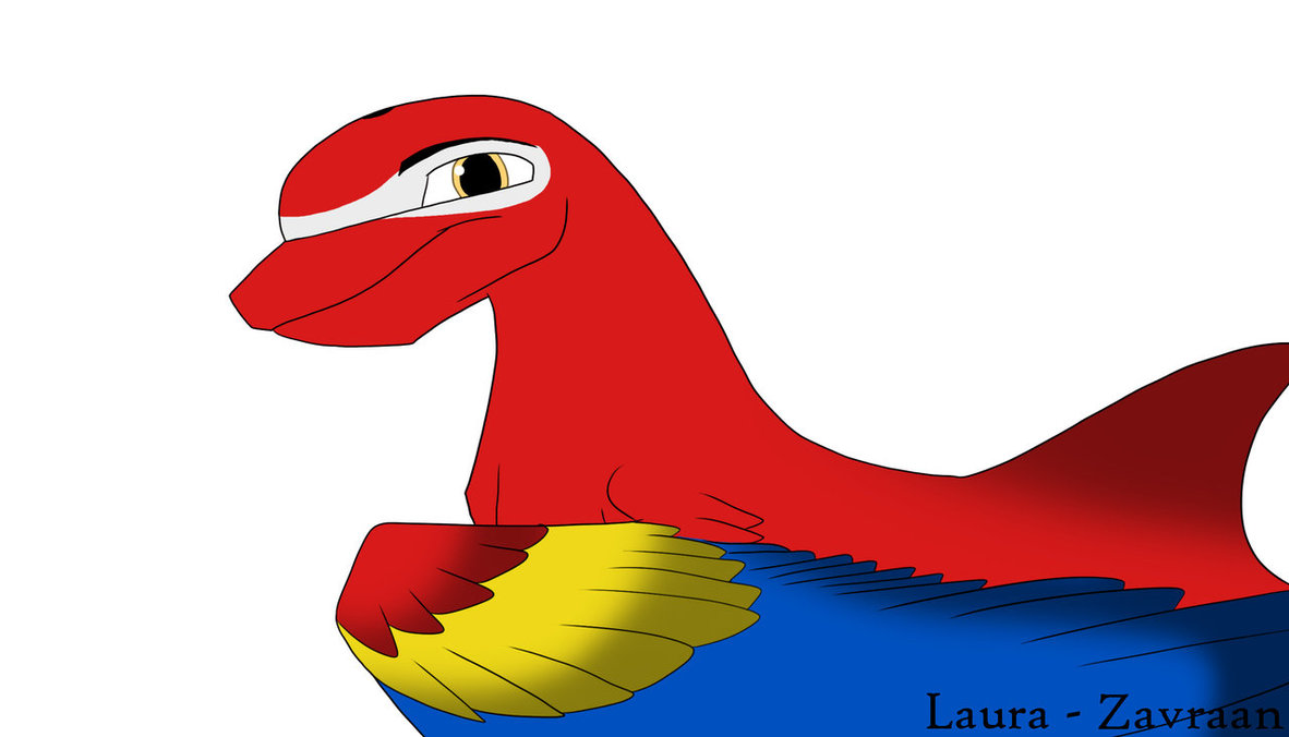 Scarlet Macaw clipart drawing #9