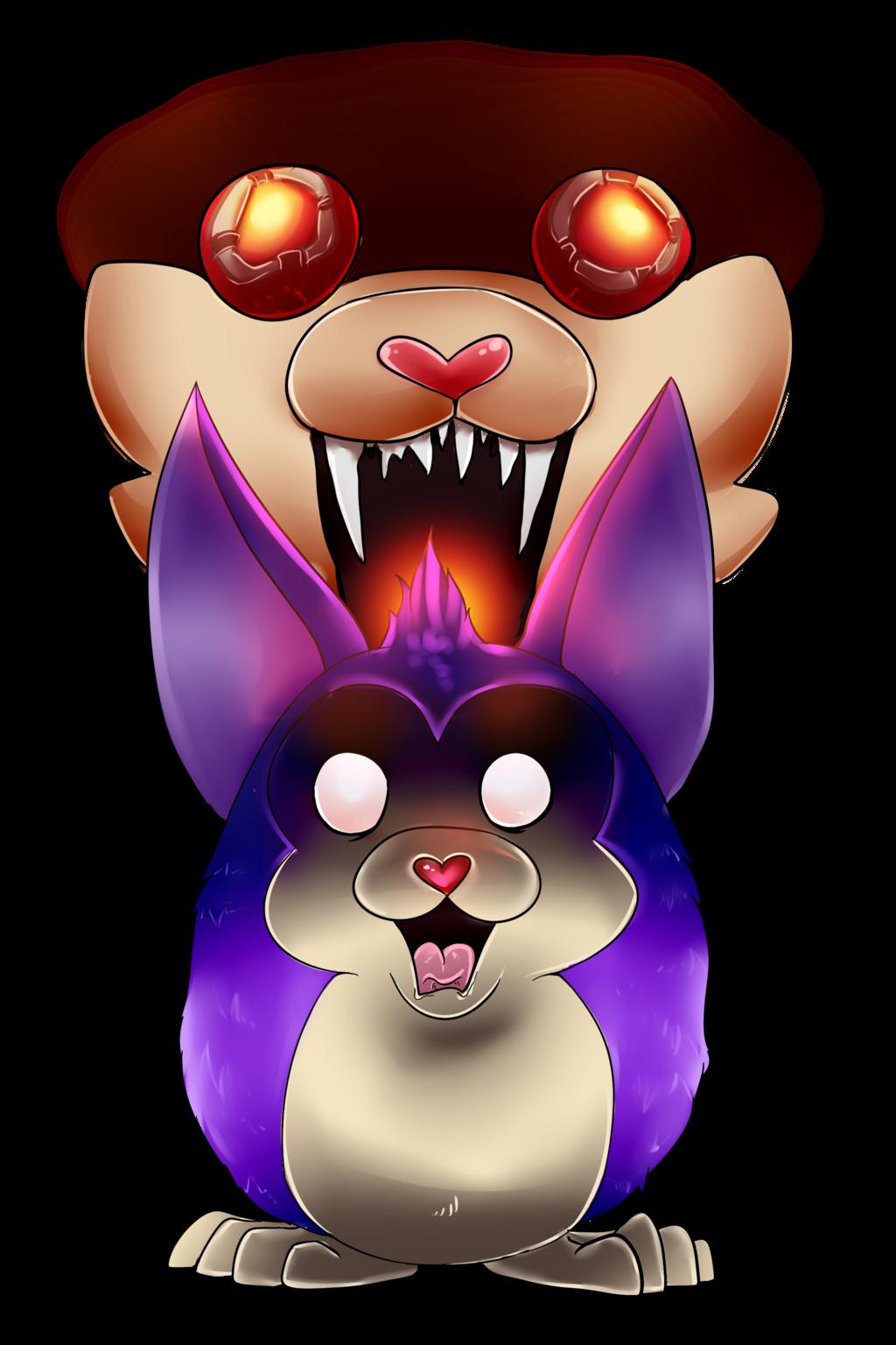 Scary clipart bunny #6